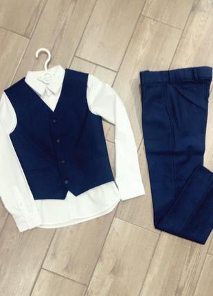 Костюм/ школьная форма / брюки и жилет