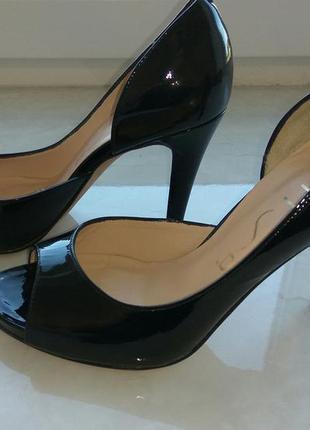 Шкіряні туфельки unisa3 фото