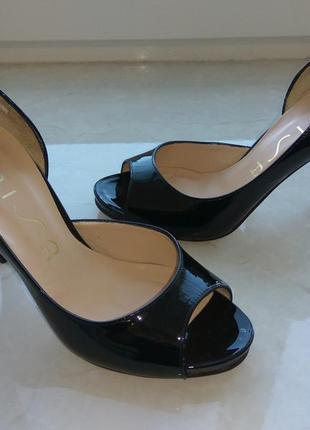 Шкіряні туфельки unisa4 фото