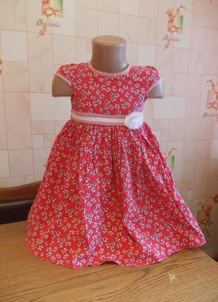 Платье 3 года, 96 см, pumpkin patch