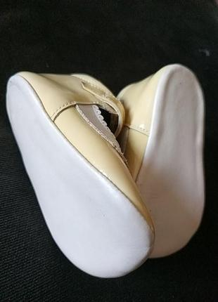 Первые туфельки, пинетки из натуральной кожи6 фото