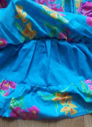 Платье 4 года, 104 см, heskia, хлопок5 фото