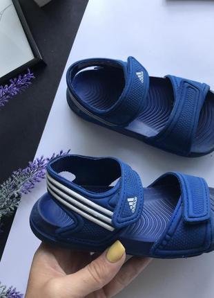 Детские спортивные сандали на мальчика / босоножки на мальчика adidas  24 -25