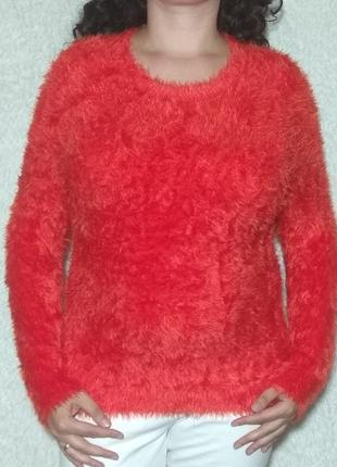 Нежный свитерок травка