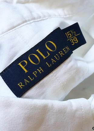 Мужская рубашка ralph lauren polo - оригинал, как новая3 фото