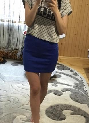 Спідничка синього кольору