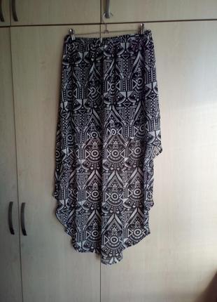 Шифоновая легкая юбка