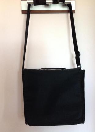 Мужская сумка для компьютера на одно плечо. /brend corner