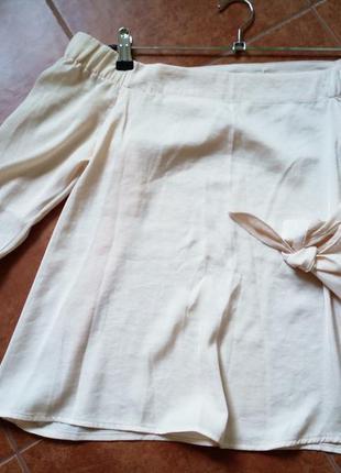 Блуза цвета шампань, 36размер, ostin