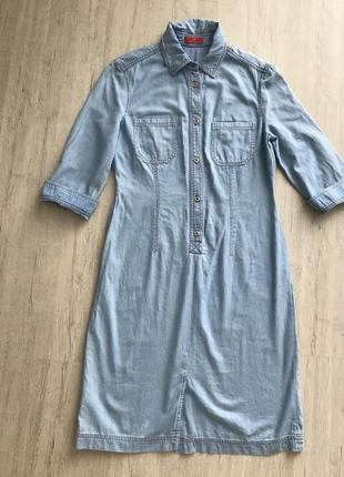 Очень красивое джинсовое платье