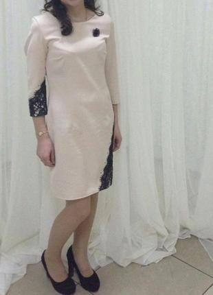 Плаття кремове