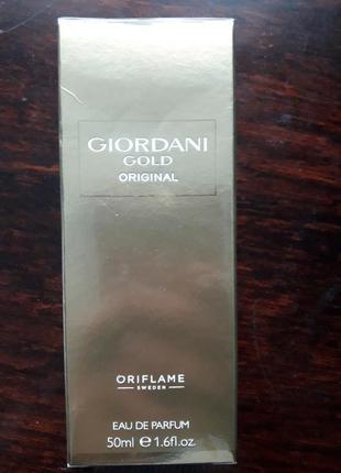 Парфумована вода oriflame giordani gold original
