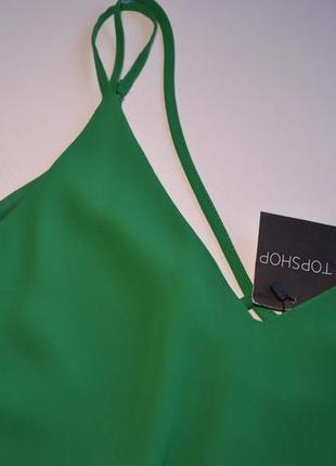 Летнее свободное зеленое платье3 фото