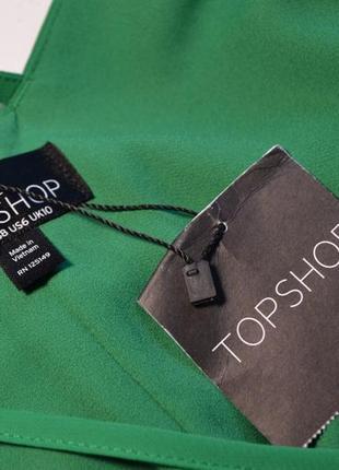 Летнее свободное зеленое платье6 фото