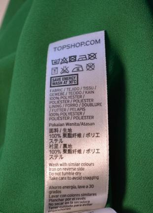 Летнее свободное зеленое платье7 фото