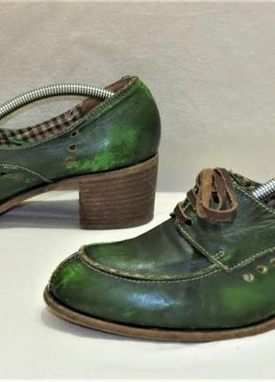Туфли king tartufoli мягкая кожа размер 38 италия