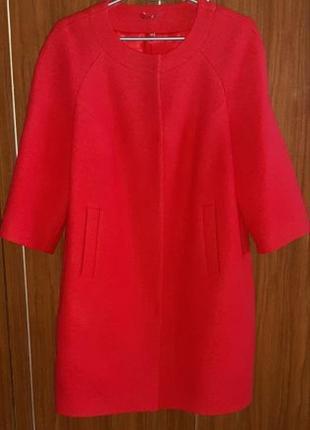 Шерстяное стильное и качественное пальто р. 48-52