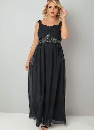 Шикарное платье 54 размер