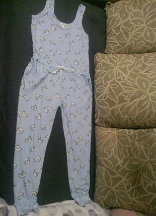 Пижама комбинезон комбез для дома сна forevtr 21