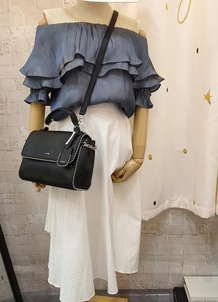 Крутая оригинальная сумка aldo кроссбоди