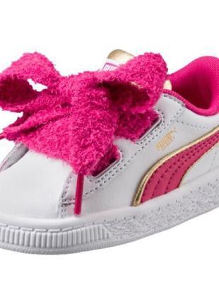 Моднячие детские кроссовки puma minions basket оригинал  распродажа