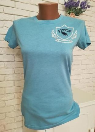Тонкая котоновая футболка,р.m