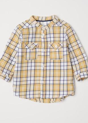 Рубашка с длинным рукавом h&m