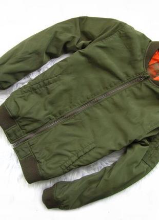 Стильная демисезонная куртка бомбер rebel