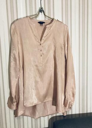 Мега стильная блуза от h&m цвет пудра