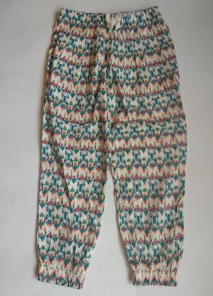 Легенькі літні штани для дівчинки 5-6р