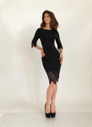 Шикарное и  интригующее платье с перфорацией2 фото