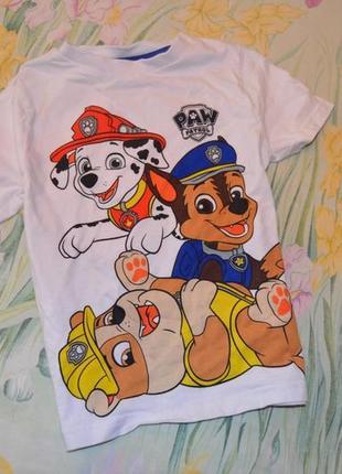 Фирменная футболка щенячий патруль
