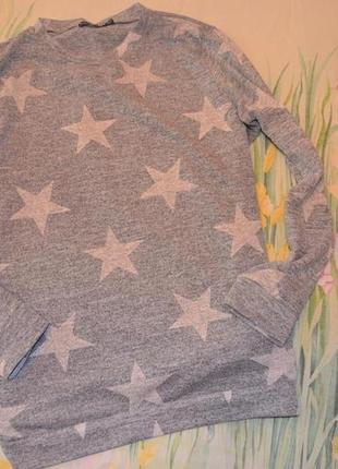 Женский реглан свитшот  звезды