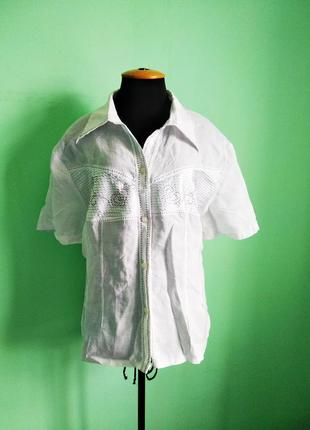 Льняная рубашка италия excella