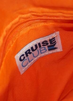 Cruise club. классная фирменная плетёная сумка через плечо, кросс-боди3 фото