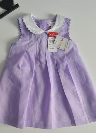 Новое платье на 9-12мес