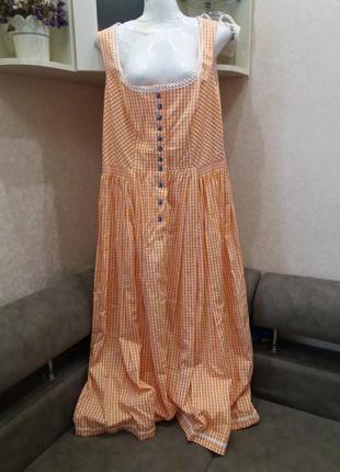 Стильное классное платье- сарафан в пол- бренд-sportalm---16 18р aвстрия