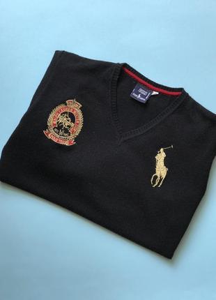 Оригинальный свитер polo by ralph lauren