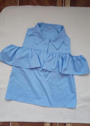 Сорочка рюш