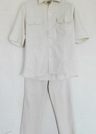 Летний льняной костюм pacifico collection