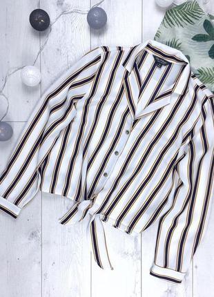Актуальная рубашка в полоску от miss selfridge