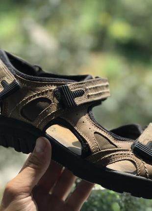 Alm walker кожаные босоножки сандали
