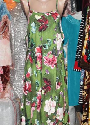 Летнее платье туника (сарафан)