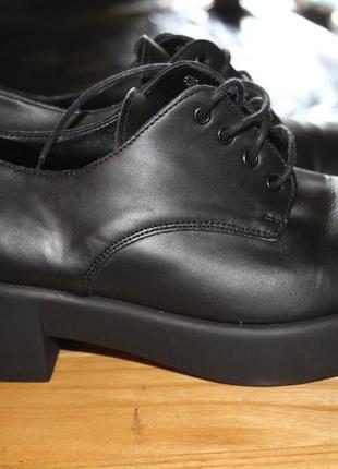 Модные туфли gioseppo.38 размер.кожа.оригинал.италия.