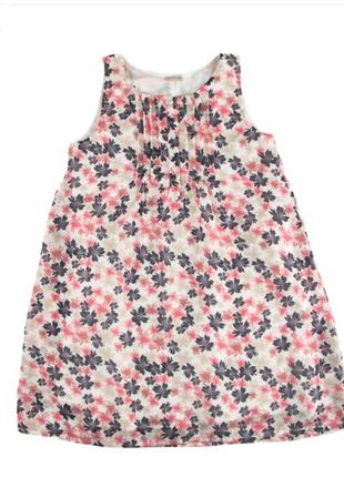 Новое платье в цветочный принт name it сарафан