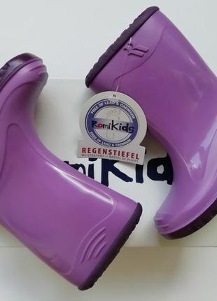 Резинові чоботи romi kids bunny viola-auberg