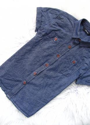 Стильная рубашка с коротким рукавом george