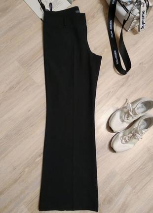 Отличные черные брюки штаны прямые в пол6 фото