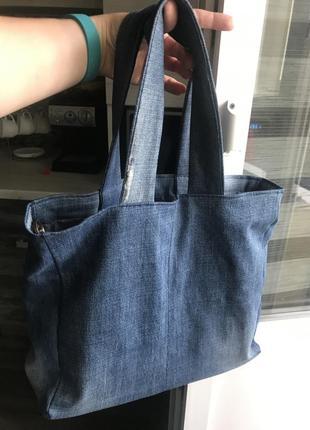 Джинсова сумка2 фото