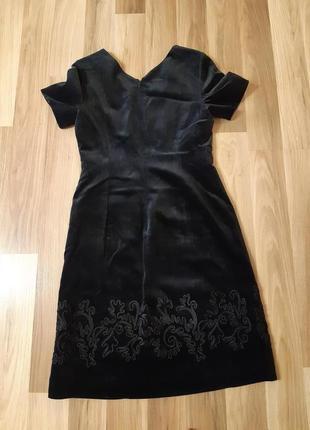 Бархатное платье laura ashley